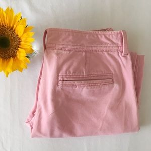 Banana Republic Ankle Pink Pants